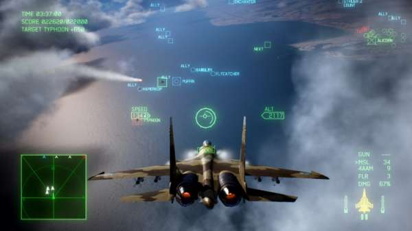 Вышло дополнение Ace Combat 7: Skies Unknown – Unexpected Visitor