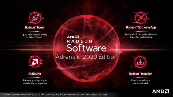 Вышел драйвер Radeon Software Adrenalin 20.1.1